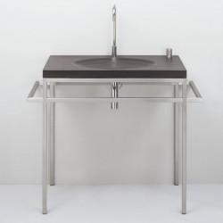 Schiefer Waschtisch - Bauhaus II