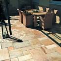 Bodenplatten Quarzit