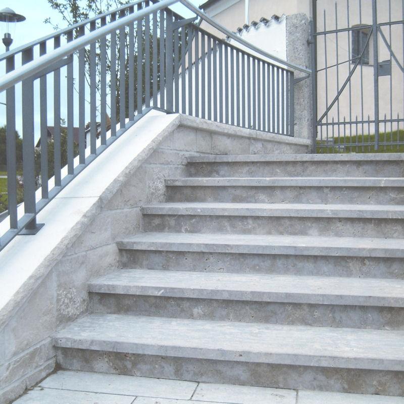 Stufen Abdeckplatten Dietfurter DolomitR