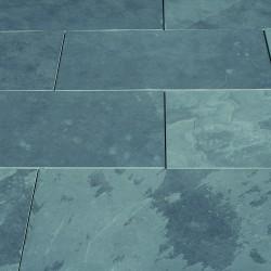 Boden- & Terrassenplatten - Schiefer schwarz/grau