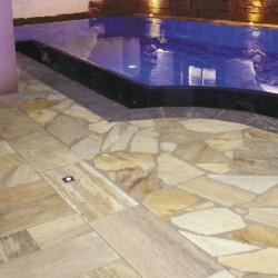 Polygonalplatten - Quarzit Rio Dorado