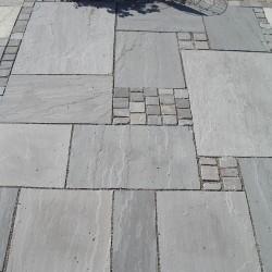 Bodenplatten - Sandstein Bundy Grey