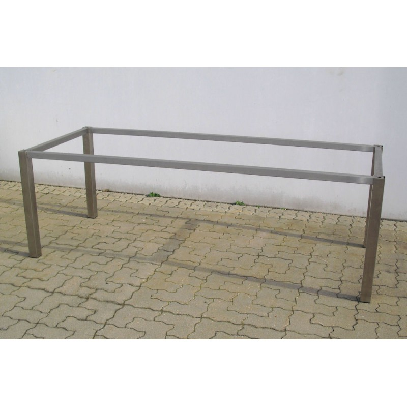 Edelstahl Tischgestell