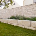 Vorgeblendete Mauerwerke